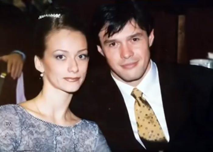 Инна Гинкевич и второй муж Павел