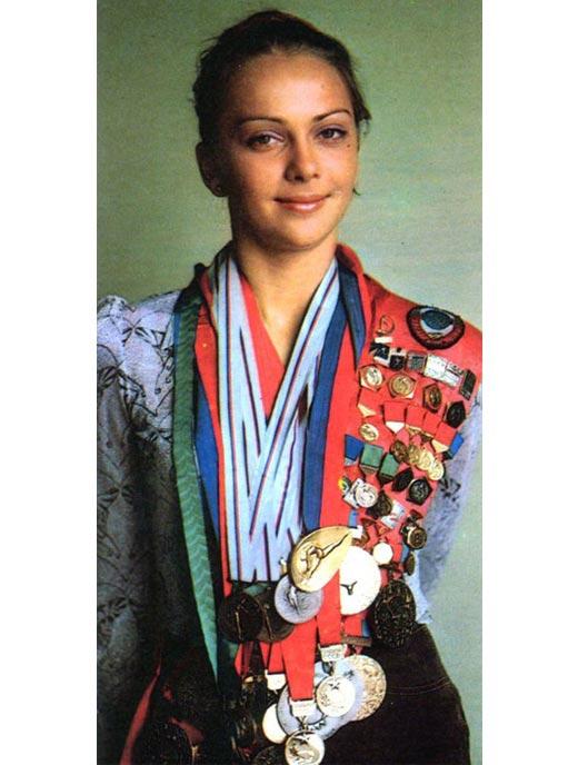 Ирина Дерюгина в молодости