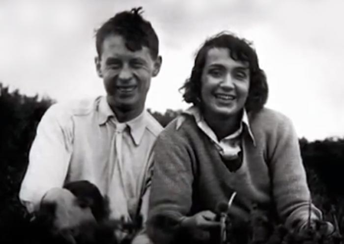 Иван Пырьев и Ада Войцик