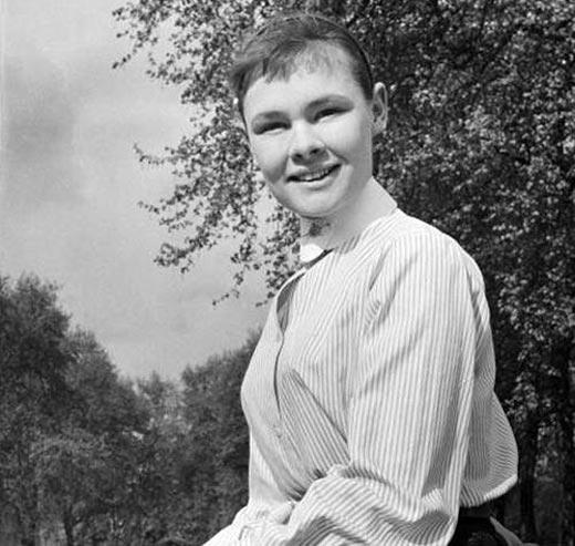 Джуди Денч в молодости
