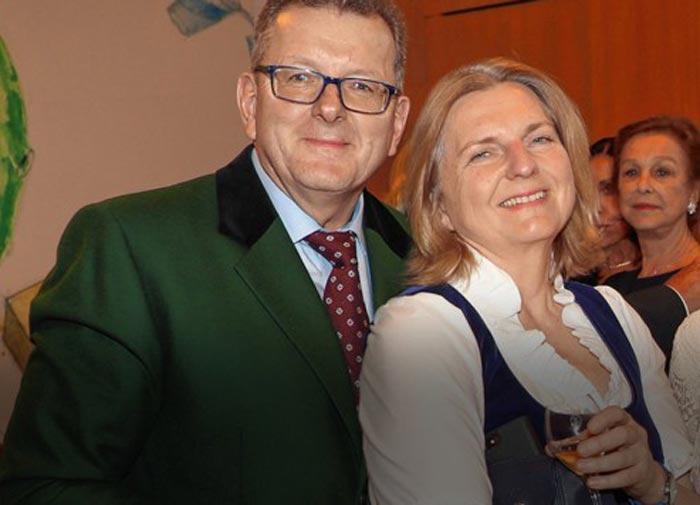 Карин Кнайсль и Вольфганг Майлингер