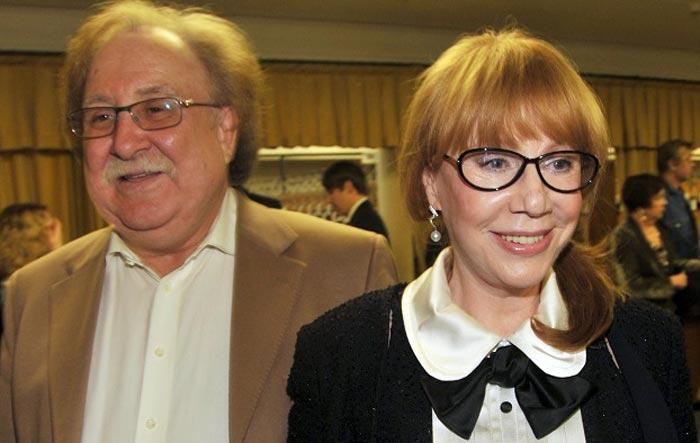Кира Прошутинская и Анатолий Малкин