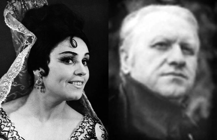 Клара Кадинская и Владимир Сачков