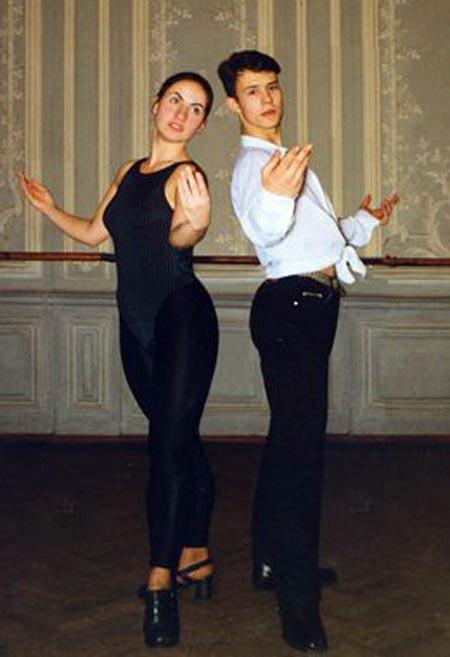 Ксения Каталымова и Кирилл Плетнев