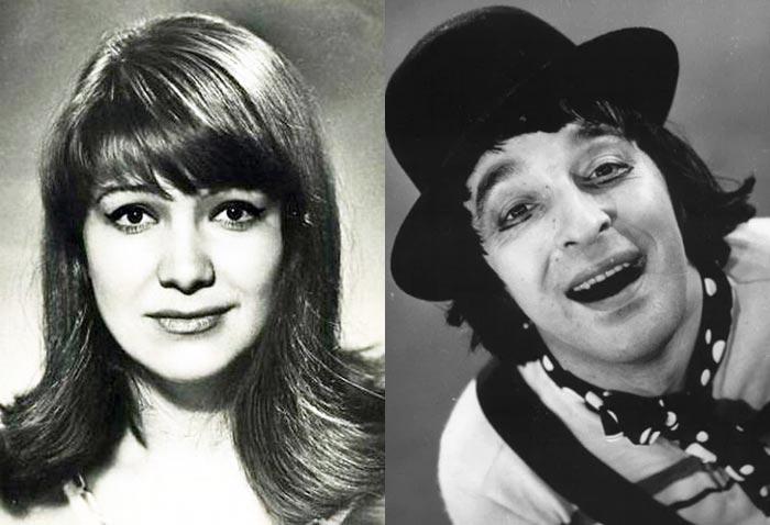 Ксения Минина и Леонид Енгибаров