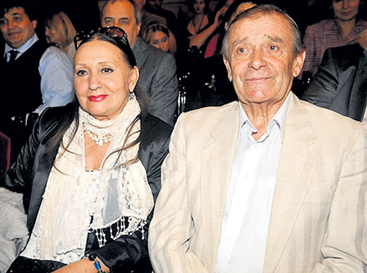 Лариса Кадочникова и Михаил Саранчук