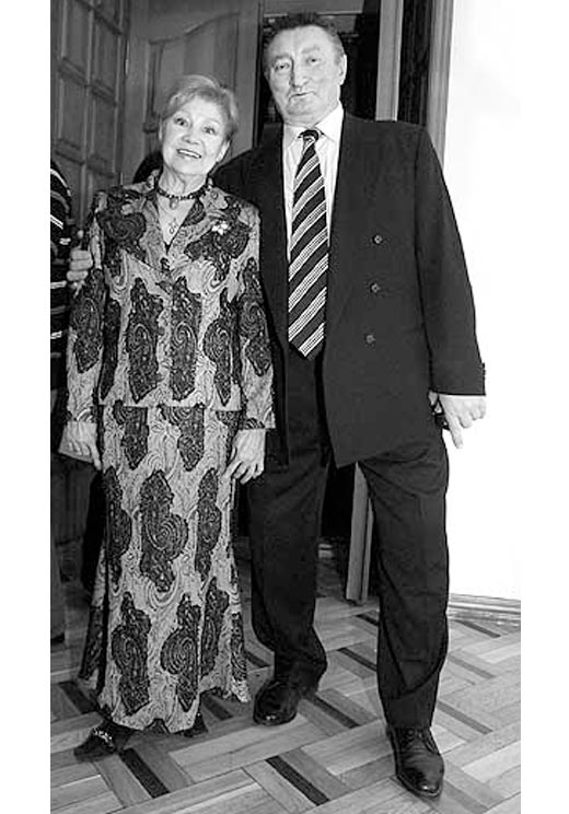Лариса Латынина и второй муж Юрий