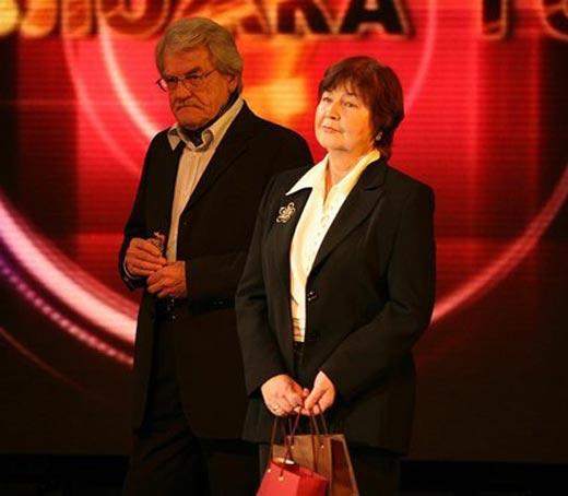 Леонид Кулагин и жена Элеонора
