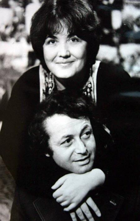 Лион Измайлов и жена Елена