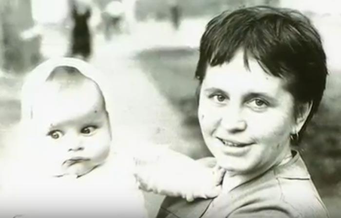 Людмила Гнилова и сын Михаил
