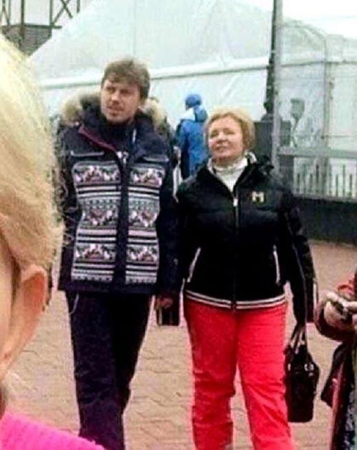 Людмила Путина и Артур Очеретный 2