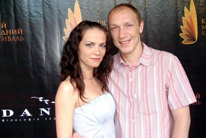 Максим Коновалов и жена Светлана