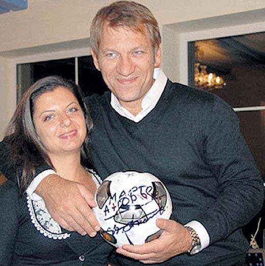 Маргарита Симоньян и Андрей Благодыренко