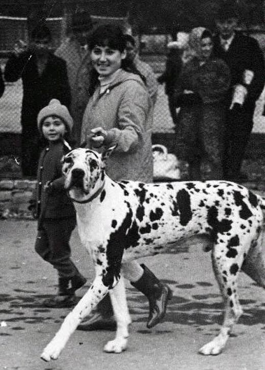 Марица Михайловна Запашная и дочь Марица