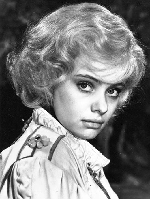 Мария Селянская в молодости