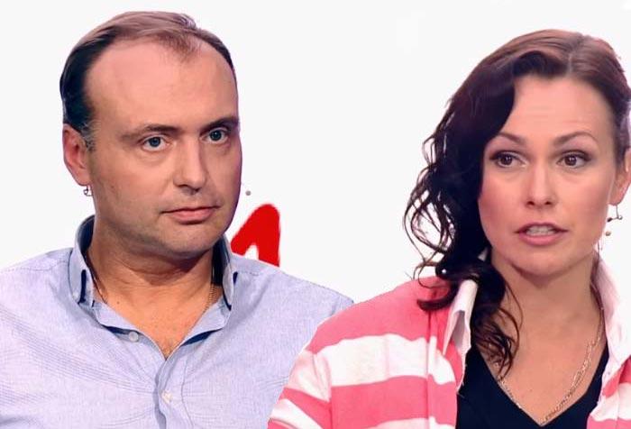 Марк Горонок и Вероника Голубева