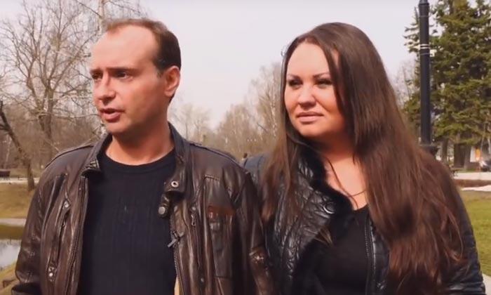 Марк Горонок и жена Анна 2