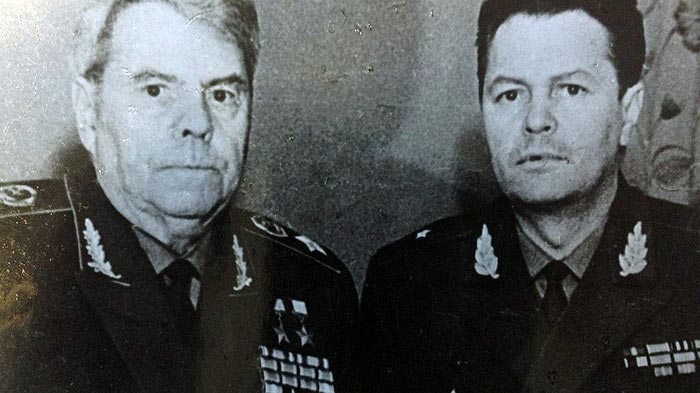Маршал Василевский и сын Юрий
