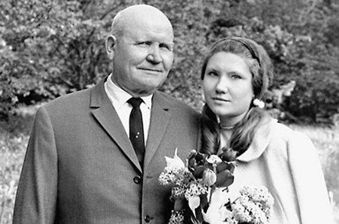 Иван Конев и дочь Наталия