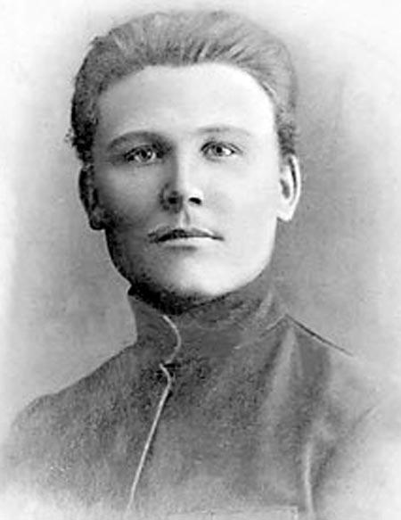 Иван Конев в молодости