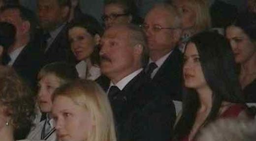 Марта Голубева и Александр Лукашенко 3