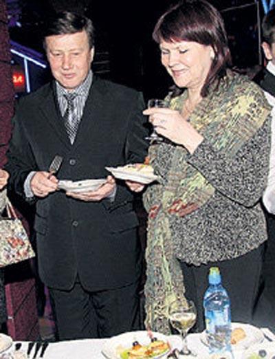 Михаил Долгинин и жена Елена