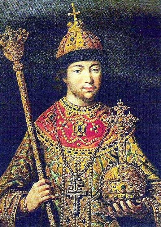 Михаил Фёдорович Романов в молодости