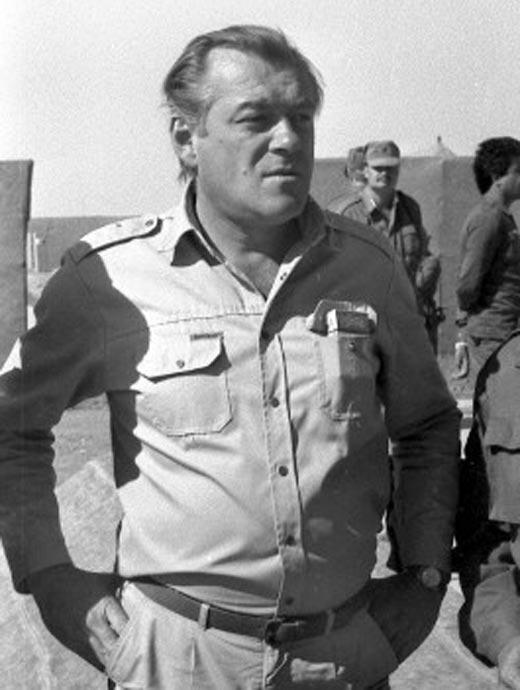 Михаил Лещинский в Афганистане