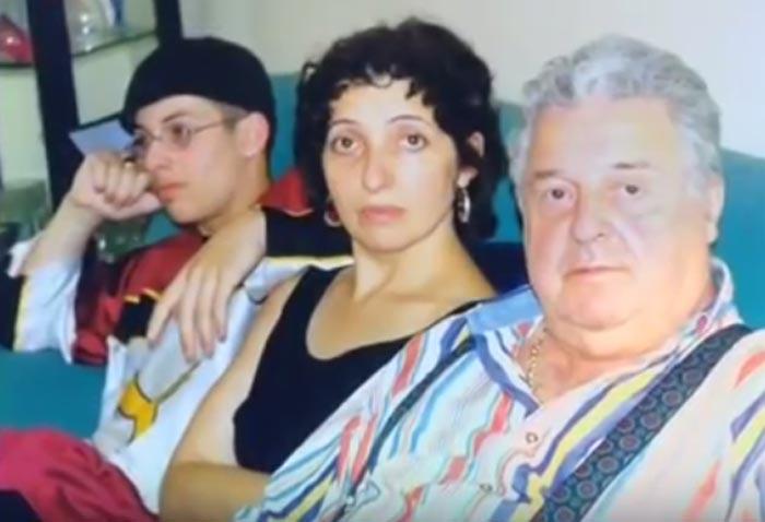 Михаил Танич и дочь Инга