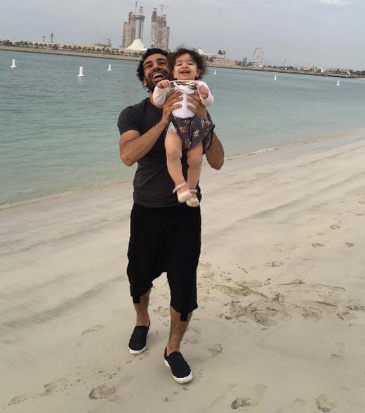 Мохаммед Салах и дочь Макка 3