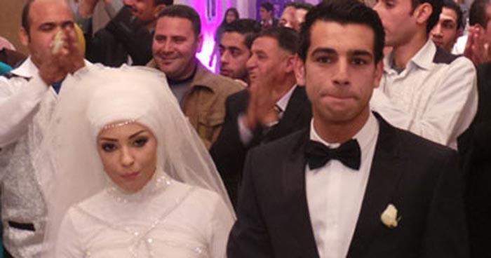 Мохаммед Салах и жена Маги 2