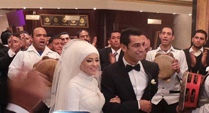 Мохаммед Салах и жена Маги 3