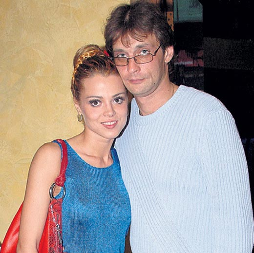 Наталья Громушкина и Александр Домогаров