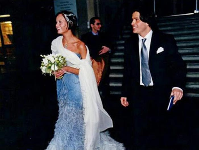 Наталья Семанова с мужем