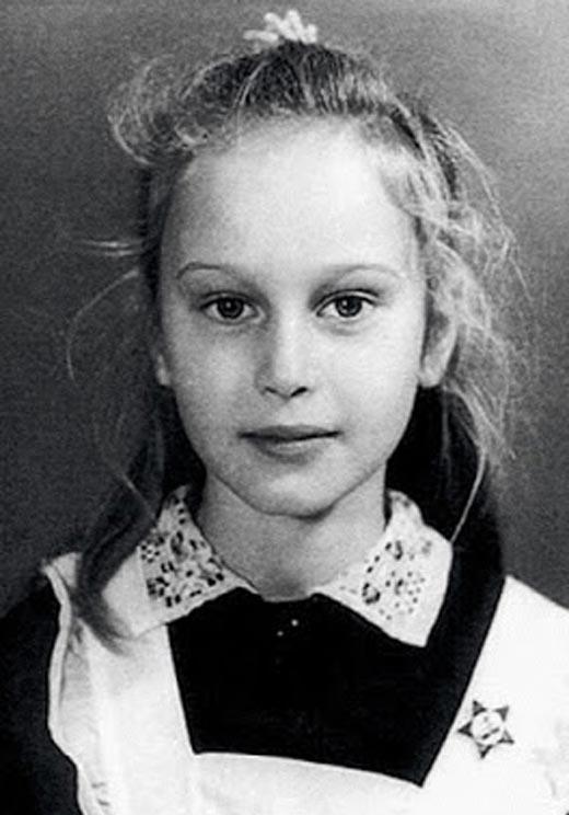 Наталья Семанова в детстве