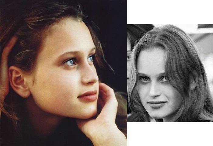 Наталья Семанова в юности