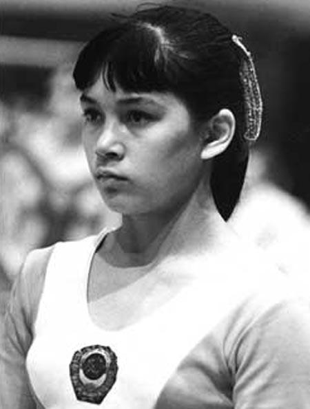 Нелли Ким в молодости