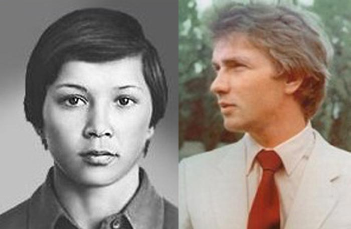 Нелли Ким и Валерий Мовчан