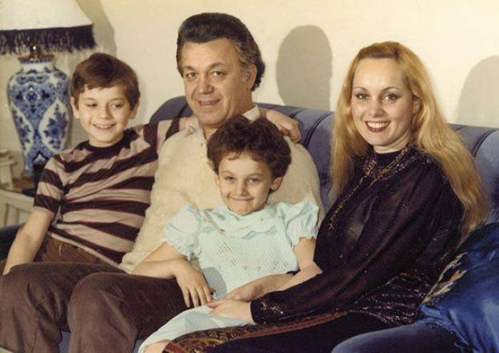 Нелли Кобзон с мужем и детьми 2