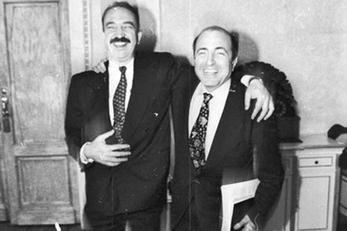 Николай Глушков и Борис Березовский