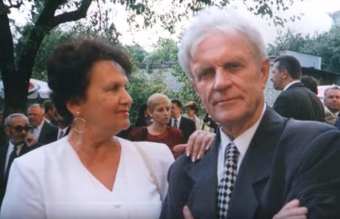 Николай Ерёменко старший и жена Галина Орлова