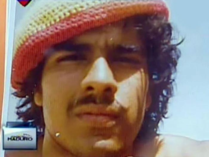 Николас Мадуро в молодости