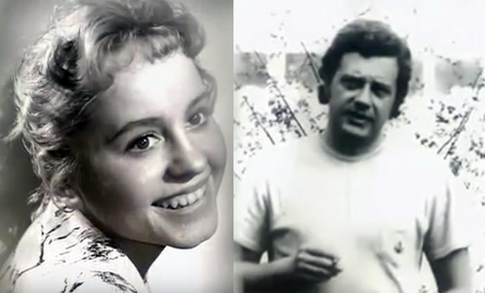 Николай Каширин и Людмила Гнилова