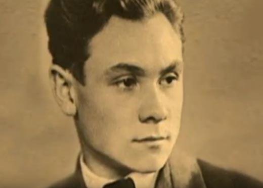 Николай Трофимов в юности