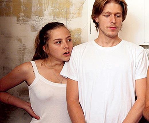 Нина Гусева и Никита Ефремов