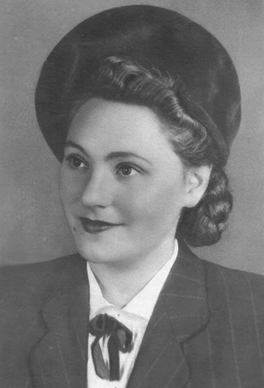 Нонна Копержинская в молодости