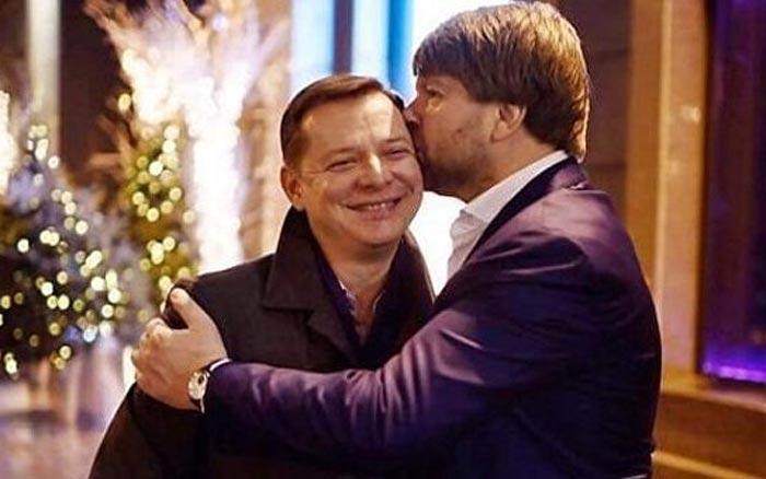 Олег Ляшко и Юрий Сухин 2