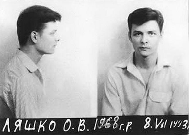 Олег Ляшко во время ареста