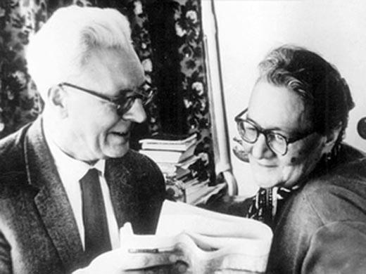Ольга Пыжова и Борис Бибиков