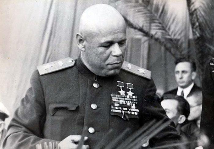 Маршал бронетанковых войск Рыбалко